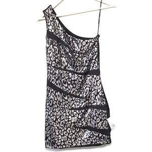 Forever 21 Cheetah Sequin One Strap Dress
